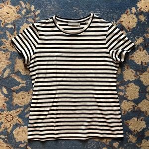 c1c1324faa Vince Tops   Bengal Stripe Essential Cotton Tee S   Poshmark